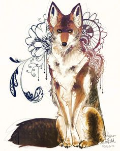 Coyote by ~Lynndoodles on deviantART