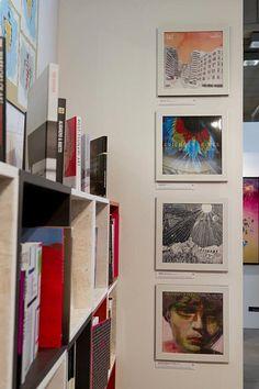 Colourful Interior Design ideas at Kunstart 2012