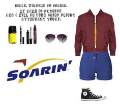 """""""Soarin'"""" by mysterylullaby on Polyvore featuring Disney, LE3NO, WearAll, Converse, Yves Saint Laurent and Marc Jacobs"""