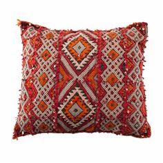 Vintage Moroccan pillow.