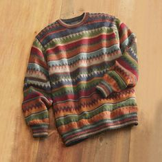 Bolivian Alpaca Sweater/ heck yes! Mode Outfits, Casual Outfits, Fashion Outfits, Mode Inspiration, Mode Style, Casual Fall, Kind Mode, Sweater Weather, Aesthetic Clothes