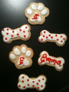 dog cookies - party ideas when adding a new furry member to your family