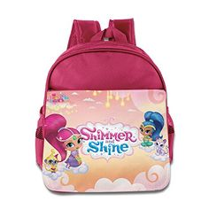 Shimmer And Shine 3 Kids School Backpack BagSmall Bag For Boys And Girls 1-6 Years Old Kindergarten; Is Very Cool For Kids Who Go To School. Adjustable Padded Shoulder Straps For Additional Comfort. ...