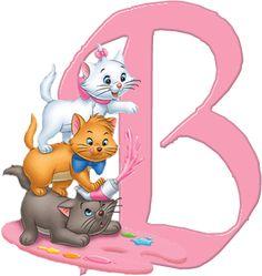 B Aristocats Alphabet (Oh My Alfabetos!)