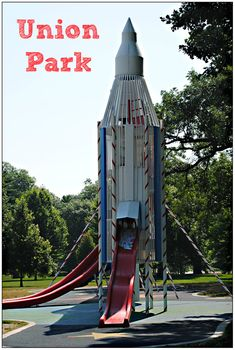Union Park is a gem of Des Moines. This historic park is like walking back in time and includes a wading pool, a rocket slide and a carousel