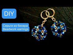 Beaded Beads, Beaded Bracelet Patterns, Beads And Wire, Seed Bead Earrings, Beaded Earrings, Earrings Handmade, Beaded Bracelets, Earring Tutorial, Jewelry Making Tutorials