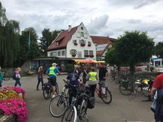 Biking the Lake Constance Bicycle Path