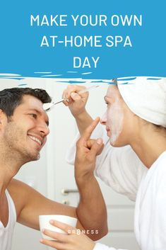 It always starts at home, even pampering. Save your dollars for time well spent by making your spa day at home with these easy-to-do ideas. Spa Day At Home, Home Spa, Home Remedies For Acne, Acne Remedies, Remedy Spa, Spa Tag, Turkish Architecture, Spa Chair, Make Your Own