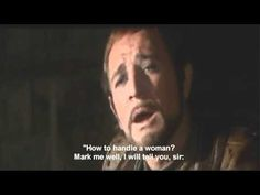 My favorite play and song... How To Handle A Woman...Richard Harris is King Arthur - Camelot