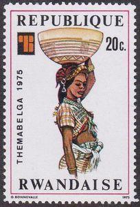 Sello: Themabelga (Ruanda) (Themabelga) Mi:RW 766,Sn:RW 705,Yt:RW 682,Bel:RW 704