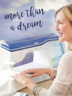 Everything is easier, faster and more intuitive than ever with our Brother Dream Machine. #BrotherInspires