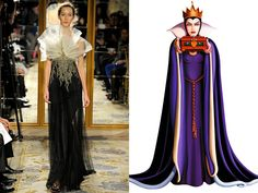 The Evil Queen, Snow White and the Seven Dwarfs - Fall 2012 RTW
