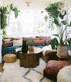 Un peu d'inspi pour décorer le séjour avec des plantes! 20 idées…