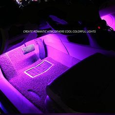 IREALIST 18 LED RGB Car Sound-activated Interior Light Strips Waterproof Strip LightLamp Lighting Set with IR Remote Control. For product info go to:  https://www.caraccessoriesonlinemarket.com/irealist-18-led-rgb-car-sound-activated-interior-light-strips-waterproof-strip-lightlamp-lighting-set-with-ir-remote-control/