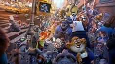 Image for Zootropolis: from concept to reality