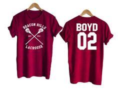 Teen Wolf shirt beacon hills tshirt BOYD 02 Tshirt #tee #tshirt #cool #awsome
