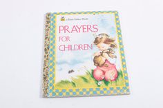 Prayers For Children - Little Golden - Picture Book by ThePinkRoom