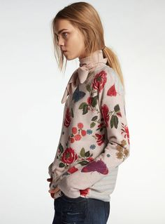 Oui hsøt 17 Floral Tops, Brand New, Blouse, Long Sleeve, Autumn 2017, Sleeves, Collection, Dresses, Women