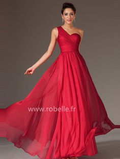 Robe rouge soiree pas chere