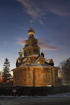 Museum of Wooden Architecture in Suzdal #Travel #Russia