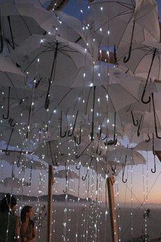 and Unusual Urban Art Installations Around the World Umbrella rain Lights installations for the Burning Man festival, Nevada.Umbrella rain Lights installations for the Burning Man festival, Nevada. Light Art Installation, Art Installations, Urban Art, Fairy Lights, Solar Lights, Event Decor, Cool Photos, Amazing Photos, Amazing Ideas