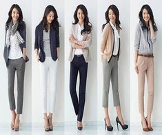 15 Trendy Ideas for style preppy casual pants Casual Chique, Preppy Casual, Casual Work Outfits, Business Casual Outfits, Mode Outfits, Office Outfits, Work Attire, Work Casual, Fashion Outfits