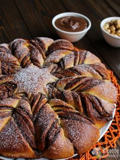 Stella di pan brioche alla Nutella, ricetta