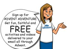 Holy Heroes Advent Adventures. Free daily videos and activities to learn about Jesus, the Saints, and to grow during Advent.