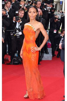 Cannes Film Festival 2012 - Jada Pinkett Smith in Atelier Versace at the Madagascar 3 premiere.