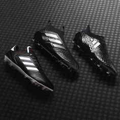Adidas Football @adidasfootball: Triple black. Introducing the Chequered Black pack. Available now.