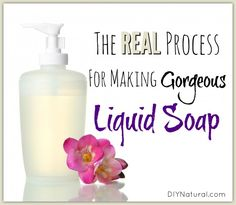 Know how to make liquid soap? Sure, you can grate bar soap, add hot water, & wait a few days. But we've mastered making REAL liquid soap for hands, body, dishes, & more!