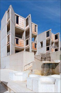 Salk Institute for Biological Studies.1962. La Jolla, California. Louis Kahn