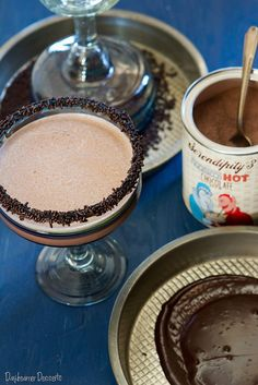 In one of my not too long ago excursions to Sur La Table, I was scanning through the store and came across a little can of Serendipity 3 Frozen Hot Chocolate Mix. Immediately I thought, SCORE! So, ...