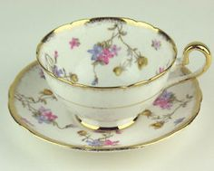 Vintage Coffee, Vintage Tea, Vintage China, Cup And Saucer Set, Tea Cup Saucer, English Tea Time, Pink Tea Cups, Royal Stafford, My Cup Of Tea