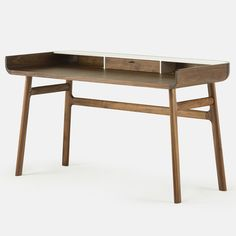 De La Espada's 106 Walnut Harold Desk by Luca Nichetto
