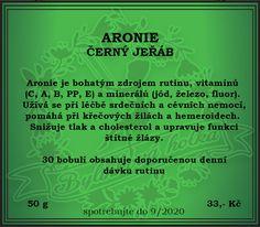 BYLINKOVÁ HOLKA: ARONIE - ČERNÝ JEŘÁB