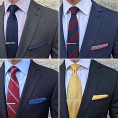 Suit and tie inspiration.