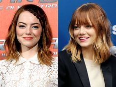 Emma Stone Gets Bangs Before Her N.Y.C. Amazing Spider-Man Premiere: See Her Cute New Cut! | People.com