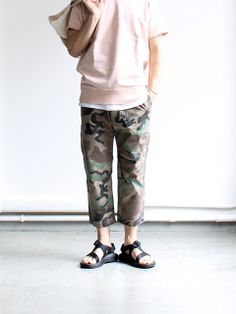 Kato 'Basic Camo Easy Pants