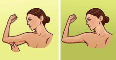 Väčšina ľudí pri cvičení sústreďujú svoju pozornosť na zadok, stehná, prípadne brucho. Málokto však myslí aj na ruky aovísajúcu kože, ktoré väčšinou prichádzajú svekom, no objavujú sa už aj učor…