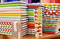 Fabric Heaven!  Great place to look for fabric, patterns, and lots of ideas.  ;o)