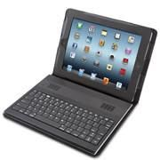 This is the iPad keyboard case with built-in speakers that enhance listening to music or watching movies. Connecting wirelessly to an iPad via Bluetooth, the keyboard provides easy typing... More Details