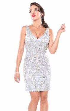 Embellished Dress by Atria 23463