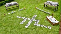 backyard fun outdoor word game