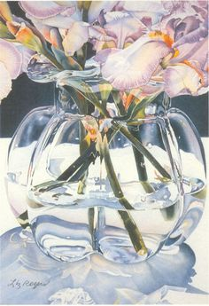 """""""Clearly Glass"""" Liz Rogers Watercolors"""