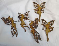 HACEMOS FORMAS DE LOS ÁNGELES, HADAS Y FANTASIA de madera - ANGELS, FAIRIES AND FANTASY WOOD SHAPES FROM www.craftykuts.com