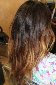 balayage, ombre, hair color