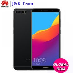 Huawei Honor LTE Mobilephone Face ID Unlock inch Full View Screen Android Camera Battery Face Id, Back Camera, Light Sensor, Sd Card, Mobile Phones, Bluetooth Gadgets, Electronics Gadgets, Free Shipping, Android
