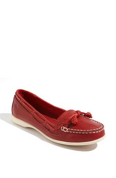 have them in yellow. need them in red! sebago.