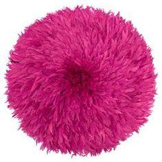 Bamileke Feather Headdress (magenta) | Juju Hat by Safari Fusion www.safarifusion.com.au